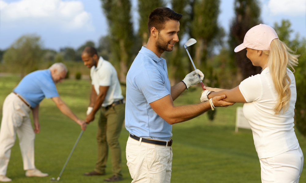 Golf School For Your Portfolio